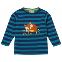 Piccalilly Stripy Fox Top