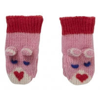 Piccalilly Bunny Knitted Mittens