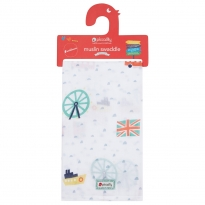 Piccalilly Little London Muslin Swaddle