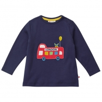 Piccalilly London Bus Long Sleeve Top
