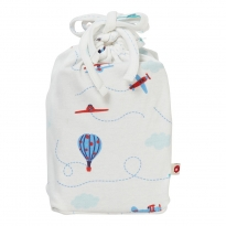 Piccalilly Fly In The Sky Moses Basket Sheet