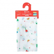 Piccalilly Magic Dragon Muslin Swaddle