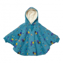 Piccalilly Woodland Print Poncho