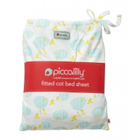 Piccalilly Puddle Duck Cot Bed Sheet in a Bag