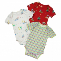 Piccalilly Rainbow Ark Baby Body x3