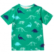 Piccalilly Dinosaur All Over Print T-Shirt