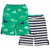 Piccalilly Dinosaur Reversible Shorts