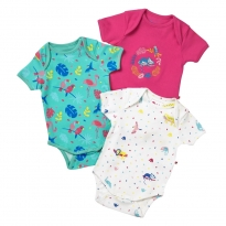 Piccalilly Tropical Rainforest Baby Body x3