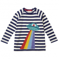 Piccalilly UFO Raglan Long Sleeve Top
