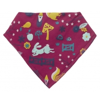 Piccalilly Enchanted Forest Bandana Bib