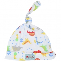 Piccalilly Footprint Dinosaur Hat