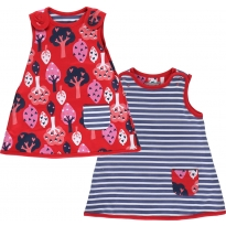 Piccalilly Forest Reversible Dress