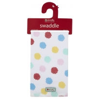 Piccalilly Nursery Floral Muslin Swaddle