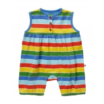 Piccalilly Rainbow Shortie Romper