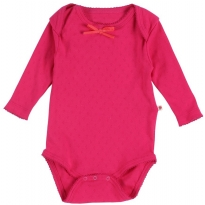 Piccalilly Pointelle Baby Body
