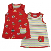 Piccalilly Rainbow Ark Reversible Dress