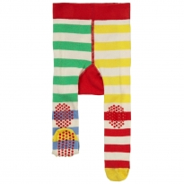 Piccalilly Rainbow Hotchpotch Crawler Tights