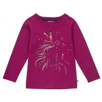 Piccalilly Rainbow Unicorn Top