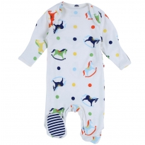 Piccalilly Rocking Horse Sleepsuit