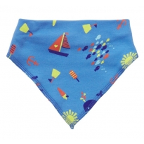 Piccalilly Seaside Bandana Bib