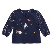 Piccalilly Space Unicorn Tunic Top