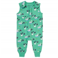 Piccalilly Swan Dungarees