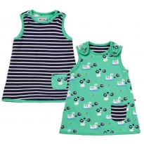 Piccalilly Swan Reversible Dress