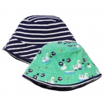 Piccalilly Swan Reversible Sun Hat