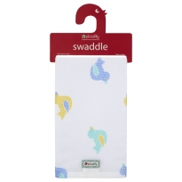 Piccalilly Toy Duck Muslin Swaddle