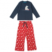 Frugi Navy Polar Bear Ace PJs