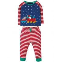 Frugi Train Stargaze PJs