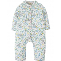Frugi Cosy Cats Clementine Romper PJs