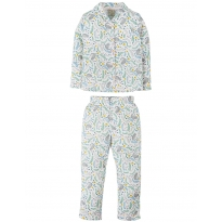 Frugi Cosy Cats Clementine PJs