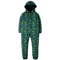Frugi Dino Trek Big Snuggle Suit