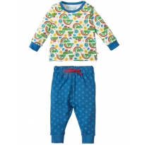 Frugi Happy Days Little Long John PJs