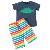 Frugi Dino Little Perran Pyjamas