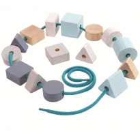 Plan Toys Geo Lacing Beads