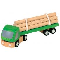 Plan Toys Logging Truck PlanWorld