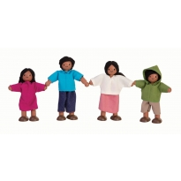 Plan Toys Mediterranean Doll Family