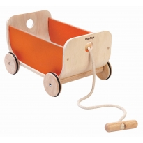 Plan Toys Orange Wagon