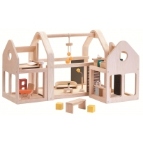 Plan Toys Slide N Go Dolls' House