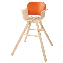 Plan Toys Orange High Chair