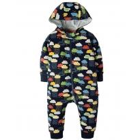 Frugi Scandi Skies Snuggle Suit