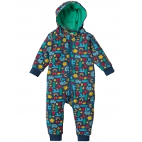 Frugi Road Trip Snuggle Suit