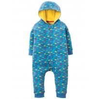 Frugi Indian Ocean Snuggle Suit