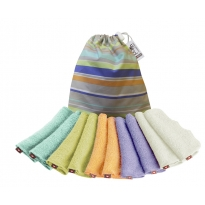 Washable Bamboo Baby Wipes 10 Pastels