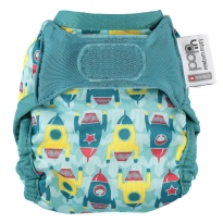 Pop-in Rockets Newborn Nappy