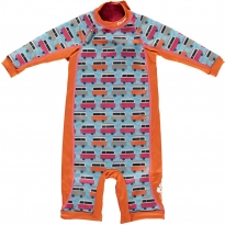 Pop-In Toddler Snug Suit Blue Camper
