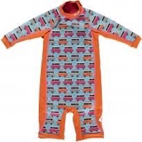 Pop-In Toddler Snug Suit Blue Camper