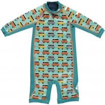 Pop-In Toddler Snug Suit Green Camper